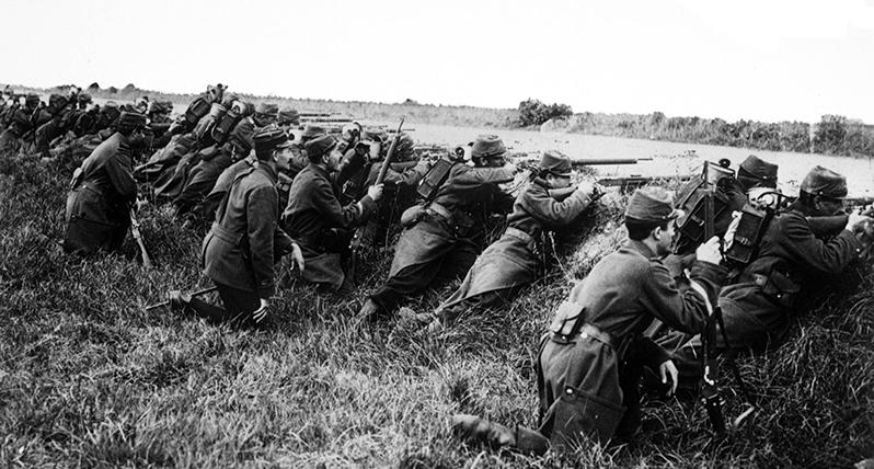 Le jour le plus meurtrier de France : 22 août 1914.'s deadliest day: Aug. 22, 1914.
