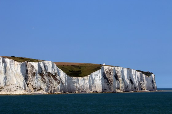The White Cliffs of Dover today. Image via MHN.