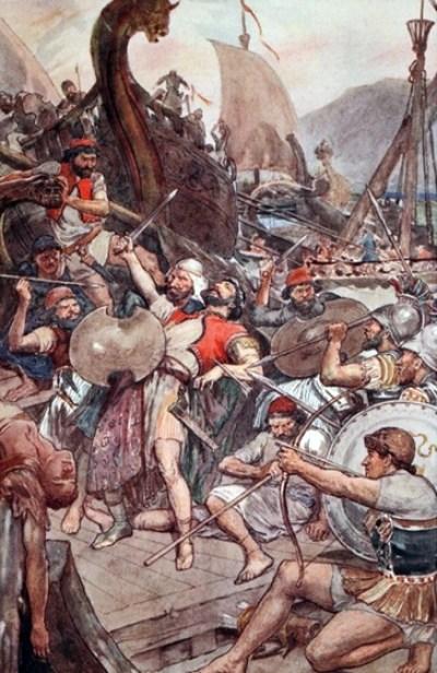 As many as 40,000 Persians drowned at Salamis.