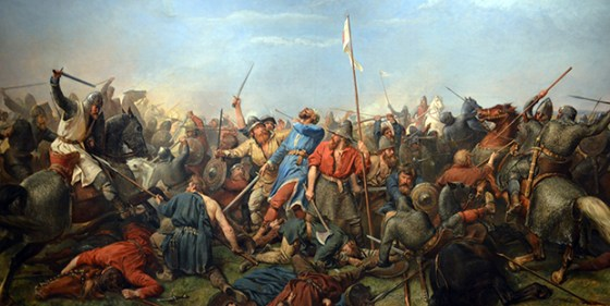 The battle of Stamford Bridge. The other famous battle of 1066.