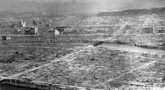 Hiroshima, 1945. (Source: WikiCommons Media)
