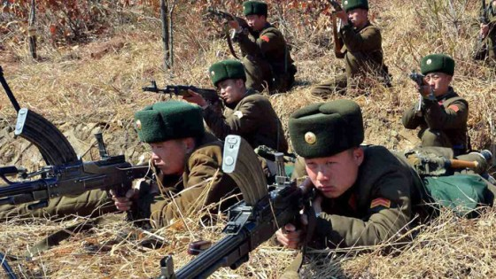 In 1968, a team of 31 elite North Korean commandos infiltrated the south. Their target: the president of the Republic of Korea. Photo courtesy the Korean Central News Agency.