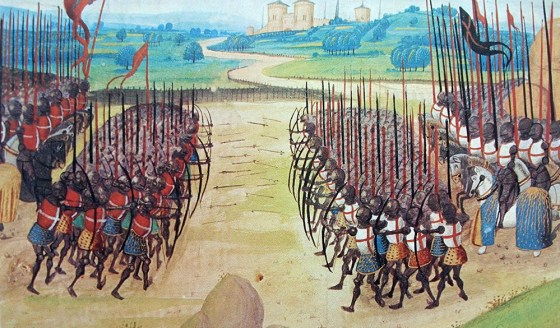 """All the gentlemen in England will think themselves cursed they were not here!"" The Battle of Agincourt, 1415."