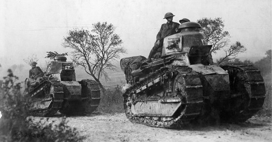 Timeline WW1 Tanks focuses on the birth of armoured warfare. Available on iTunes, it's just one of many projects British historian Dan Snow has been working on.