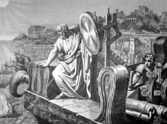 Archimedes may not have used death rays to burn Roman ships (as is widely believed), but his engineering made Syracuse a tough nut to crack.