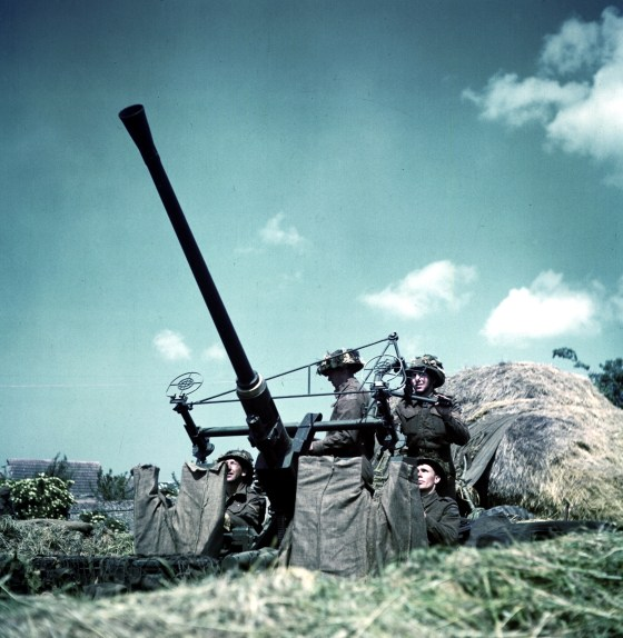Sweden's AB Bofors manufacturing company flooded the world with its famous rapid-fire 40-mm anti-aircraft gun prior to the Second World War; it was widely used throughout the conflict by both the Allies and the Axis. Production continued after the war and since 2005, modernized derivatives of the Bofors gun have been manufactured by BAE Systems. (Image source: Wikimedia Commons)