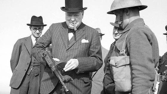 At first, Great Britain rejected the Tommy gun for its association with American gangsters.
