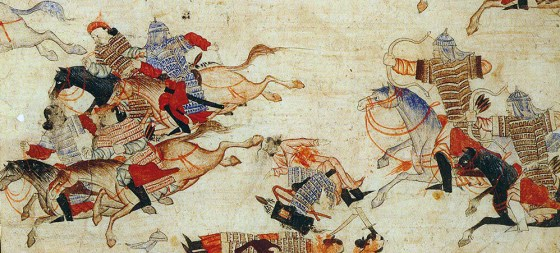 The Mongols ruled the known world in the 13th Century with 1 million soldiers. (Image source: WikiCommons Media)