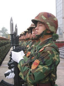 Soldiers of the PLA, the 21st Century's largest army.