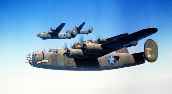 Unsung hero? The B-24 is often overshadowed by the more illustrious B-17 Flying Fortress. Yet more Liberators were built during World War Two than any other bomber in history.