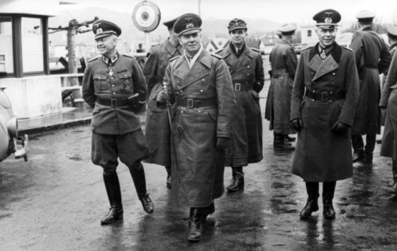 Erwin Rommel was forced to take his own life after his association with the July, 1944 assassination attempt on Hitler was discovered. (image source: WikiCommons)