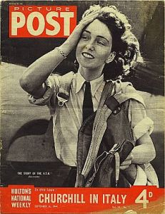 Maureen Dunlop of the British Air Transport Auxiliary was actually born and raised in Argentina. She was just one of thousands who left their homeland to fight for Britain. (Image source: WikiCommons)
