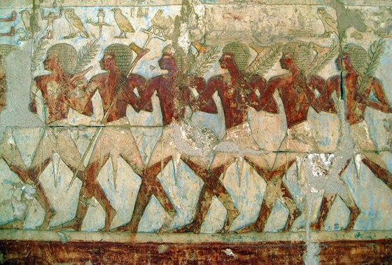 The Medjay were Ancient Egypt's elite. (Image source: WikiCommons)