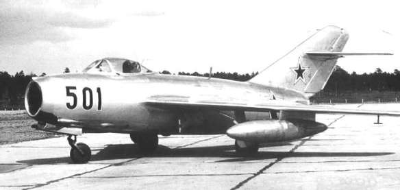 A MiG-15. (Image source: WikiCommons)