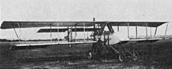 A Voisin III. Many of these early pusher-style bombers were equipped with 37 mm guns.