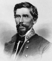 Irish immigrant, British soldier, Confederate general -- Patrick Cleburne. (Image source: WikiCommons)