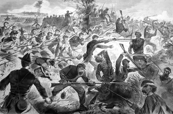 "The Confederate ""Rebel Yell"" could be heard on Civil War battlefields from Yankees from Bull Run to Appomattox. (Image source: WikiCommons)"