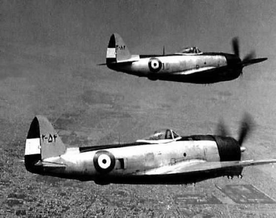 Iranian P-47s. (Image source: WikiCommons)