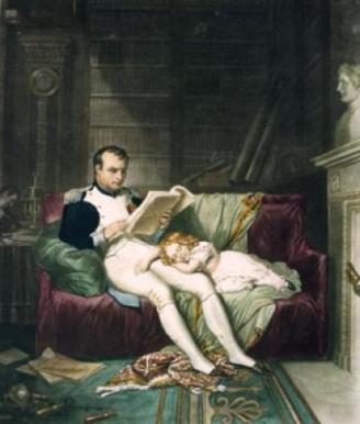 Napoleon routinely took time from empire building to lose himself in a good book.