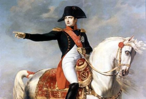 Napoleon Bonaparte: Warrior, emperor... reader? (Image source: WikiCommons)