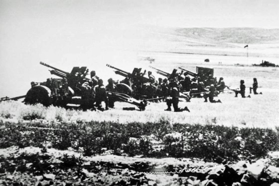The Arabs outgunned Israel two to one. (Image source: WikiCommons)