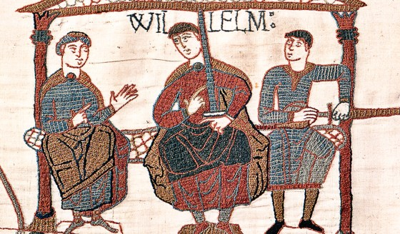 William of Normandy, as seen in the Bayeux Tapestry.