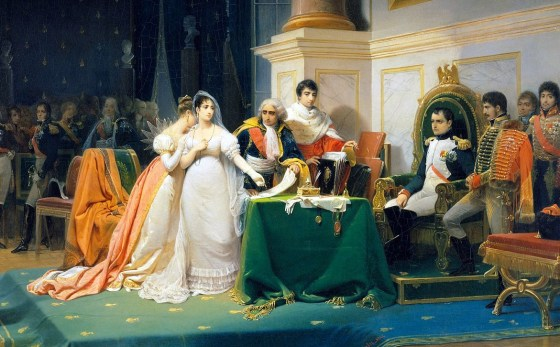 Napoleon and Joséphine had a rocky 14-year marriage marred by infidelity. IN 1810, the two 'consciously uncoupled' finally divorced.