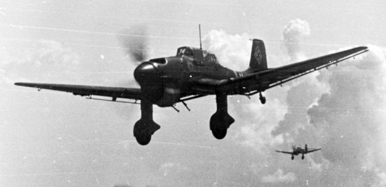 Stukas put the 'lighting' in Hitler's Blitzkrieg. (Image source: German Federal Archive)