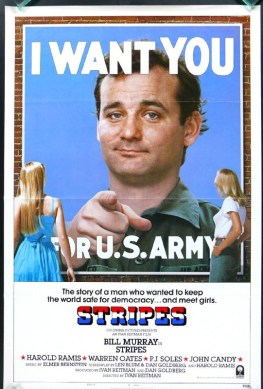 The 1981 comedy Stripes offered a tongue in cheek homage to the famous poster.