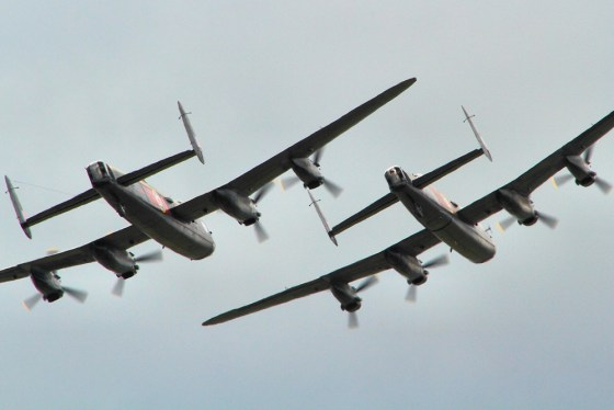 The two last airworthy Lancasters on earth are the focus of a new documentary slated to hit theatres on Nov. 11. (Image source: Flickr/Creative Commons)