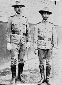 Thord-Grey briefly wore the uniform of the Philippines Constabulary. (Image source: WikiCommons)