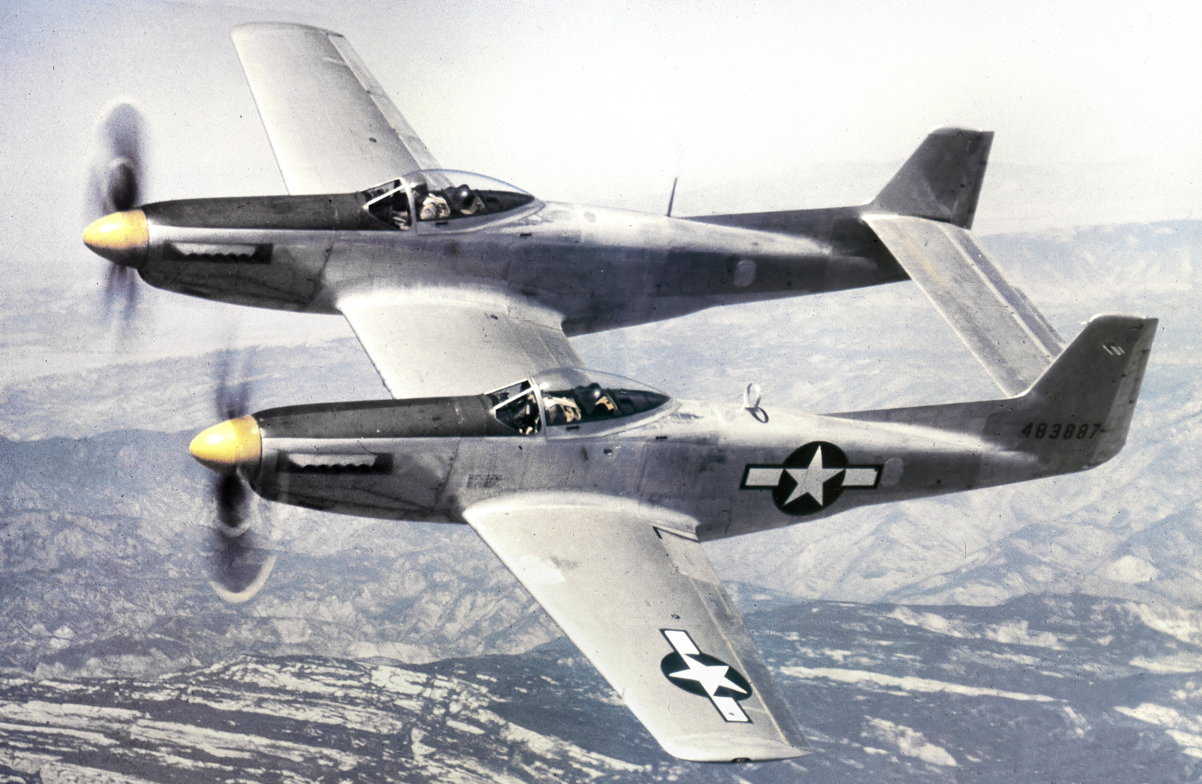 double trouble u2013 the strange history of the p 82 twin mustang