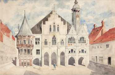 More scenes of Munich. (Image source: Public Domain)