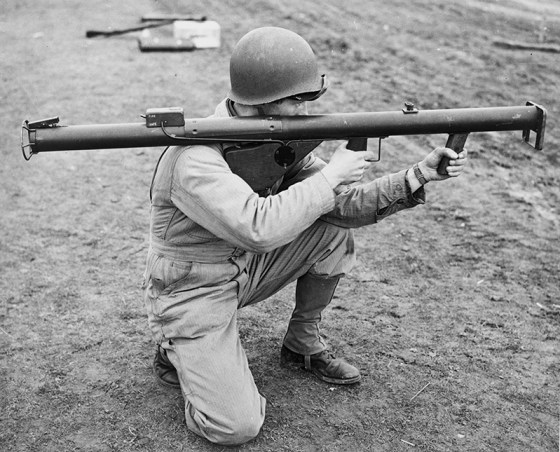 The U.S. M1A1 Bazooka inspired the Panzerschreck. (Image source: WikiCommons)