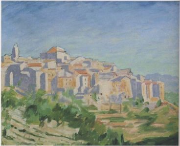 View near Vence in the Alpes-Maritimes. (Image source: http://www.museumsyndicate.com/Public Domain)