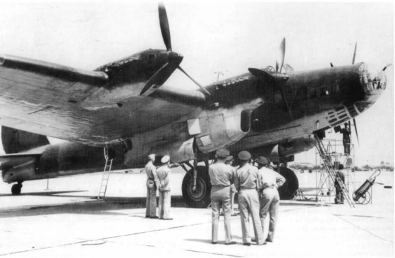 Soviet four-engine Pe-8 bombers were ready to retaliate against Berlin. (Image source: WikiCommons)