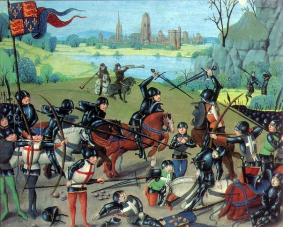 An Inconvenient Truth: Shakespeare never mentioned that Henry V ordered hundred of French captives butchered during Agincourt.