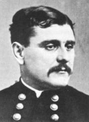 When 20-year-old Galusha Pennypacker was promoted to brigadier in 1864, he became the youngest general in American history. The moustache made him look older. (Image source: WikiCommons)