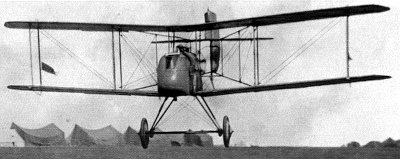 New aircraft technology , like this Airco DH.2, enabled the Allies to sweep the Fokkers from the sky. (Image source: WikiCommons)