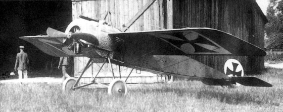 A prototype Fokker. (Image source: WikiCommons)