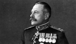 Whether he was a lion or a donkey, BEF commander General Sir Douglas Haig had a smashing set of whiskers. (Image source: WikiCommons)