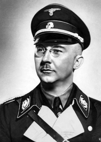 Heinrich Himmler. (Image source: German Federal Archive)