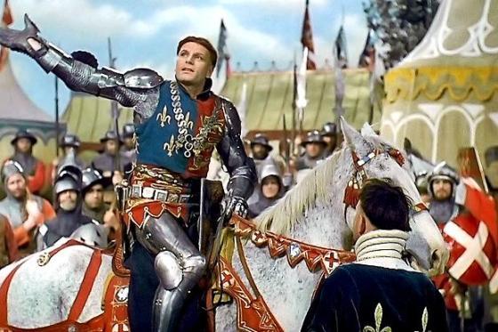 Lawrence Olivier's 1944 performance of Henry V bolstered British wartime morale.