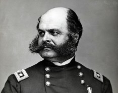 Ambrose P. Burnside's sideburns took on a life of their own. (Image source: WikiCommons)