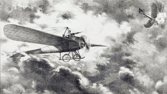 The first airplanes of World War One were ill-suited for combat.