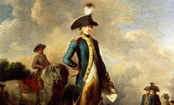 French patriot, American revolutionary, the Marquis de Lafayette was a giant of his age. (Image source: The Bridgeman Art Library)
