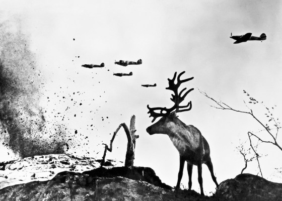Strange but true: The mighty Red Army relied on reindeer herders to move supplies from Arctic ports to the front lines.