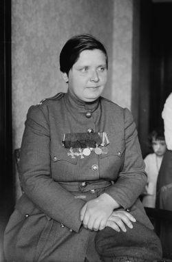 Maria Bochkareva. (Image source: WikiCommons)
