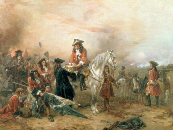 Despite receiving a safe passage from the French, the Duke of Marlborough was detained while travelling home through enemy territory. How rude! (Image source: WikiCommons)