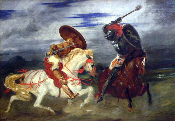 Philip of Dreuxand William Longsword's duel on the field of Bouvines changed history. (Image source: WikiCommons)